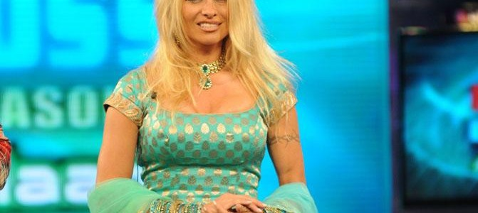 Pam Anderson in India