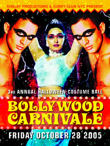 Bollywood Carnivale | October 10 2005