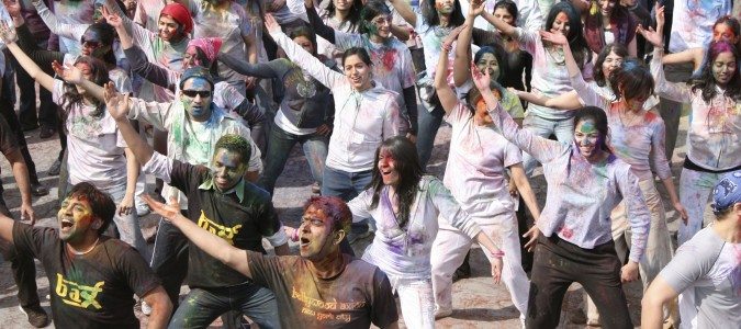 Celebrate Holi on March 30th on the Hudson River