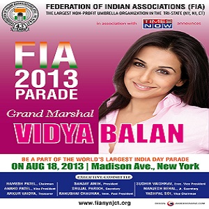 March with SALGA in the India Day Parade on Aug 18th