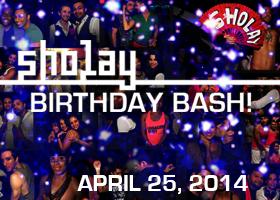 Sholay Birthday Bash | April 25 2014