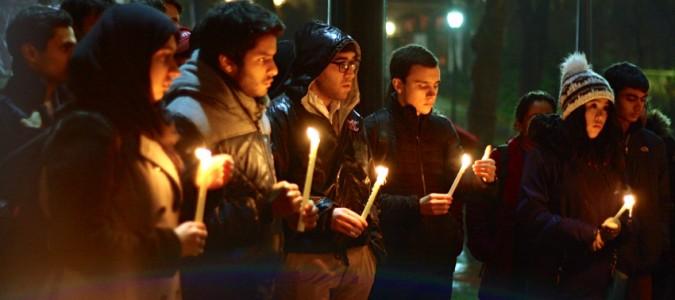 Vigil for Peshawar Victims of Taliban Attack