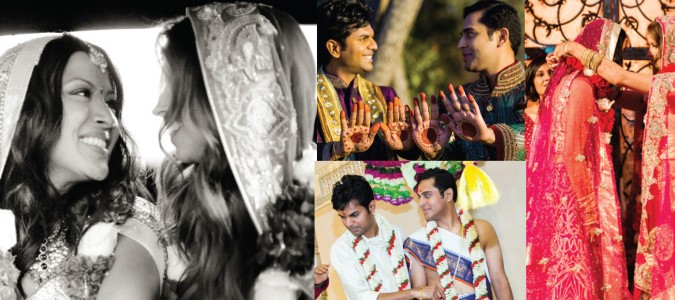 Bibi Bridal Issue Features Gay Desi Weddings