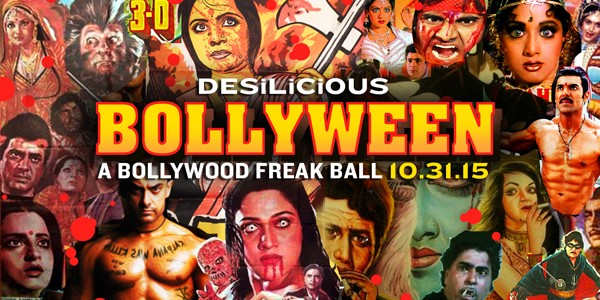 Desilicious Bollyween on Oct 31st – $10 Advance Tix Available