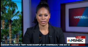 Laverne Cox on MSNBC