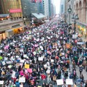 Women's March in NYC on January 20th