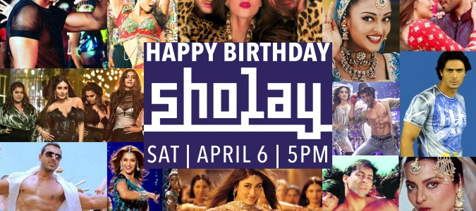 HAPPY BIRTHDAY SHOLAY! | APRIL 6 2019